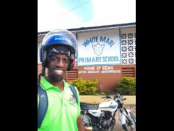 Milton C. Brown, principal of White Marl Primary School in St Catherine.